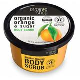 Exfoliant Corporal cu Zahar si Ulei de Portocale Sicilian Orange Organic Shop, 250ml