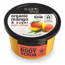 Exfoliant Corporal cu Zahar si Extract de Mango Kenyan Mango Organic Shop, 250ml de la esteto.ro
