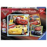Puzzle cars, 3x49 piese - Ravensburger