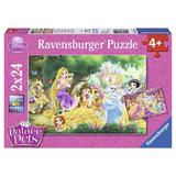 Puzzle palace pets 2x24 piese - Ravensburger