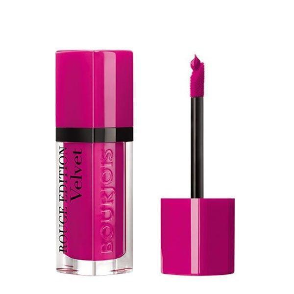 Ruj Bourjois Rouge Edition Velvet 06 Pink Pong 7.7ml poza