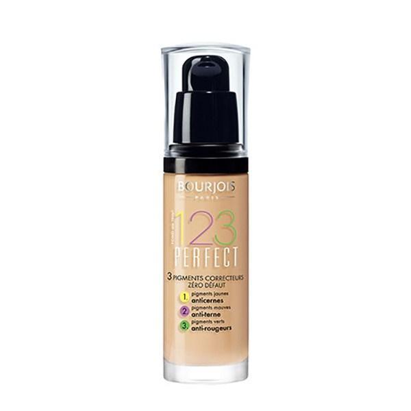 Fond de ten Bourjois 1.2.3. Perfect 54 Beige 30 ml imagine