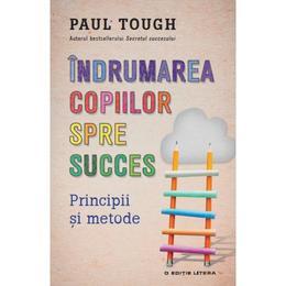 Indrumarea copiilor spre succes - Paul Tough, editura Litera