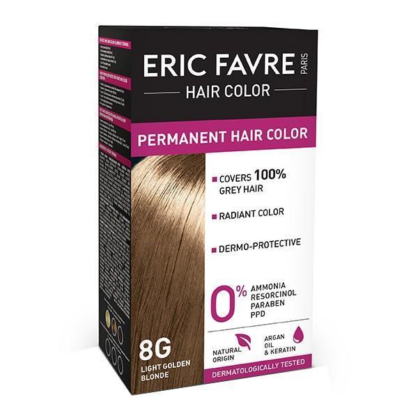 Eric Favre Hair Color Vopsea de păr 8G Blond deschis auriu imagine produs