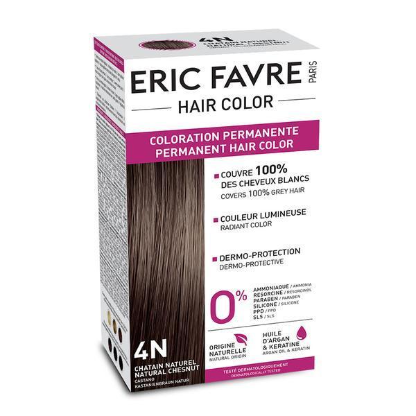 Eric Favre Hair Color Vopsea de păr 4N Șaten natural imagine produs