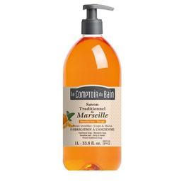 Le Comptoir du Bain Săpun de Marsilia Mandarine și Salvie 1000ml
