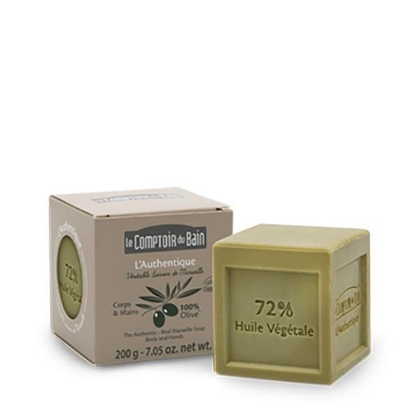 Le Comptoir du Bain Săpun cub de Marsilia măsline 200g imagine produs