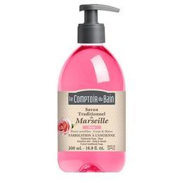 Le Comptoir du Bain Săpun de Marsilia Trandafir 500ml