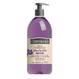 Le Comptoir du Bain Săpun de Marsilia Violete 1000ml
