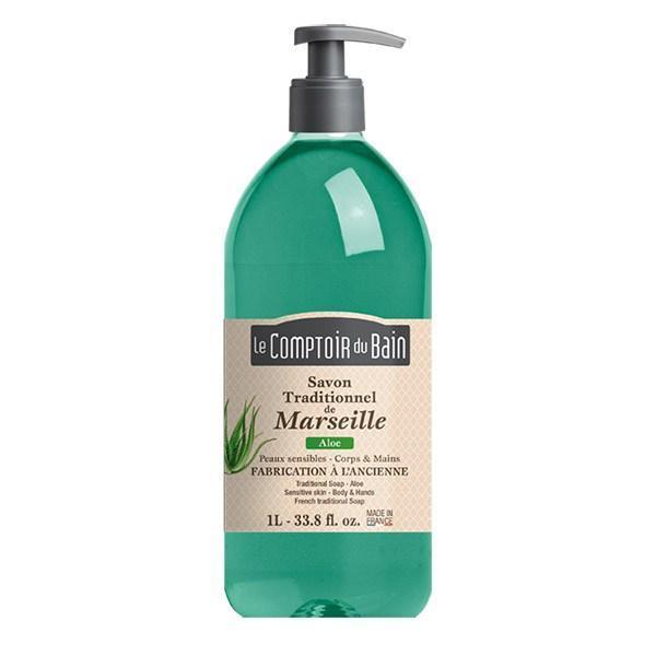 Le Comptoir du Bain Săpun de Marsilia Aloe 1000ml imagine produs
