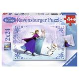 Puzzle frozen surori pentru totdeauna, 2x24 piese - Ravensburger