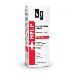 Crema hidratanta pentru tenul atopic AA Help Moisturizing Cream Fragrance Free 50 ml