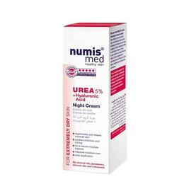 Crema noapte Urea 5 % + Hyaluronic Acid Numis Med 50 ml