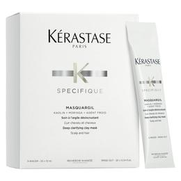Masca cu Argila pentru Curatare Profunda - Kerastase Specifique Masquargil Deep Clarifying Clay Mask, 20 x 10ml