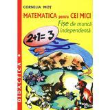 Matematica pentru cei mici - Cornelia Mot, editura Emia