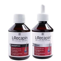 Tratament pentru par sampon L-Recapin 200 ml + Tonic L-Recapin 200 ml