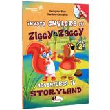 Invata engleza cu Ziggy And Zaggy. Adventures in storyland + Dvd, editura Aramis
