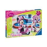 Puzzle minnie mouse in parc, 3x49 piese - Ravensburger