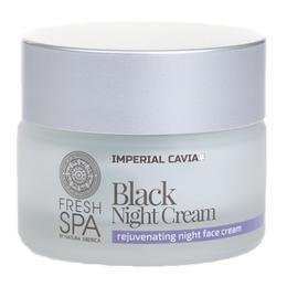 Crema Faciala Rejuvenanta de Noapte cu Extract de Caviar si Acid Hialuronic Natura Siberica, 50ml