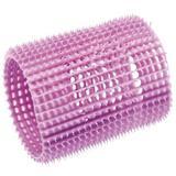 Bigudiuri cu Autofixare pentru Par Lung - Olivia Garden Nite Curl Self-Gripping Curlers Long Hair, mov, diametru 55mm, 3 buc