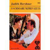 O scrisoare neprevazuta - Judith Hershner, editura Alcris