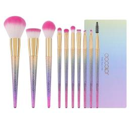 Set 10 pensule machiaj Fantasy Color Makeup - Docolor