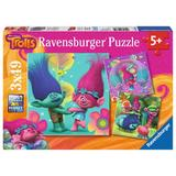 Puzzle trolls, 3x49 piese - Ravensburger