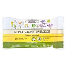 Sapun Cosmetic cu Musetel, Salvie si Glicerina Zelenaya Apteka, 75g