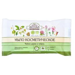 Sapun Cosmetic cu Ulei din Arbore de Ceai, Cimbru si Glicerina Zelenaya Apteka, 75g