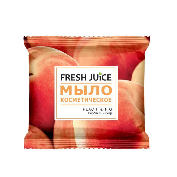 Sapun Cosmetic cu Piersici si Smochine Fresh Juice, 75g imagine produs