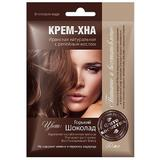 Vopsea Crema Vegetala Henna Fitocosmetic, Ciocolatiu Amarui, 50ml