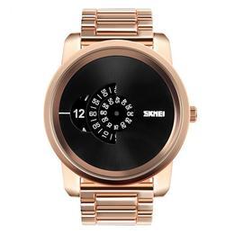Ceas Barbatesc SKMEI H 101 Fashion, cadran 5 cm, auriu