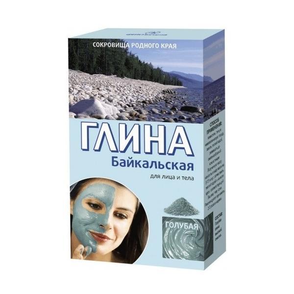 Argila Cosmetica Albastra din Baikal cu Efect Rejuvenant Fitocosmetic, 100g imagine produs