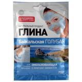 Argila Cosmetica Albastra din Baikal cu Efect Rejuvenant Fitocosmetic, 75g