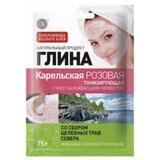 Argila Cosmetica Roz din Carelia cu Efect Tonifiant Fitocosmetic, 75g
