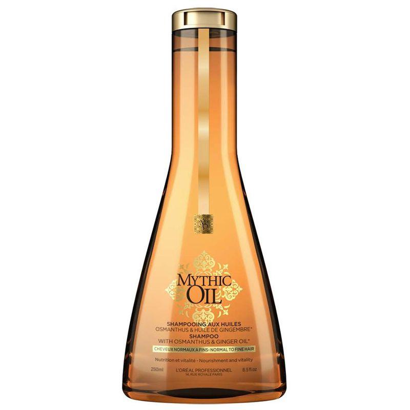 Sampon Nutritiv pentru Par Normal si Fin - L'Oreal Professionnel Mythic Oil Shampoo 250 ml imagine produs