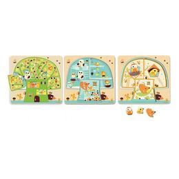 Puzzle lemn copacul djeco - Djeco