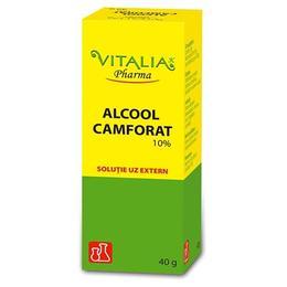 Alcool Camforat 10% Vitalia, 40g