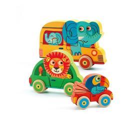Puzzle - figurine pachy & co djeco - Djeco