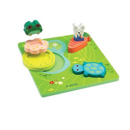 Puzzle relief 1,2,3 froggy - Djeco