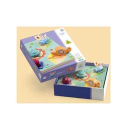 Puzzle djeco relief lilo ţestoasa şi prietenii - Djeco