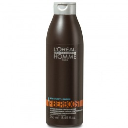 Sampon Densificator - L'Oreal Professionnel Homme Fiber Boost Shampoo 250 ml