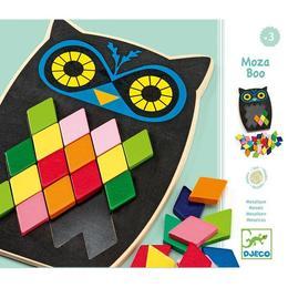 Puzzle mozaic bufniță - Djeco