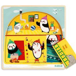 Puzzle straturi - iglu - Djeco