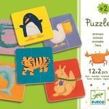 Puzzle lemn animale - Djeco
