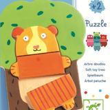 Puzzle lemn djeco  copăcelul vesel - Djeco