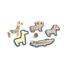 Bingonimo djeco, puzzle din lemn - Djeco