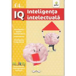 IQ 4 Ani Inteligenta intelectuala, editura Gama