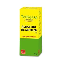 Albastru de Metilen 1% Vitalia, 25g