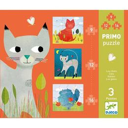 Set puzzle-uri pisicuţe - Djeco